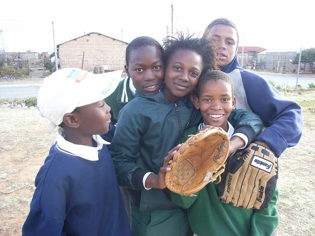 ブルームフォンティン 野球少年たち