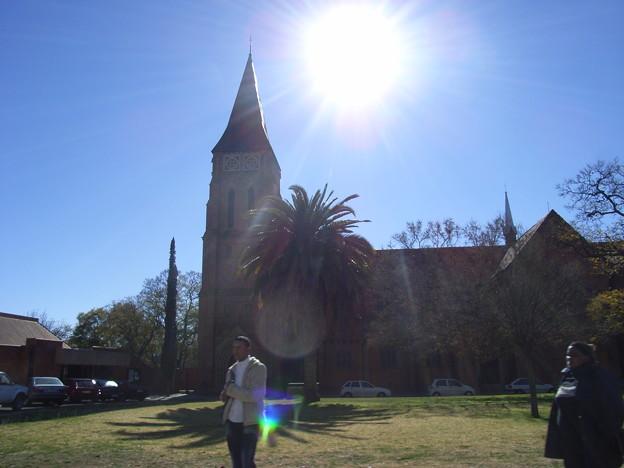 キンバリー 英国風教会