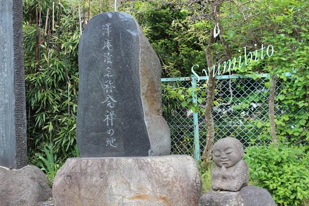 写真: 沢庵漬け 石碑