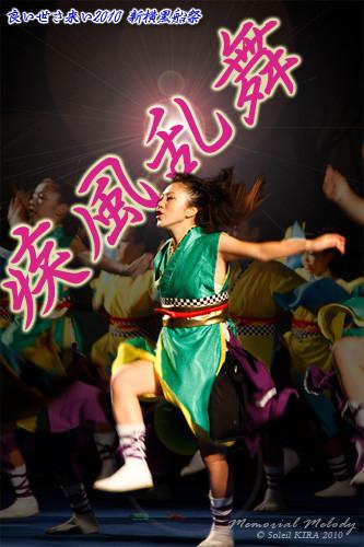 写真: 疾風乱舞_13 - 良い世さ来い2010 新横黒船祭