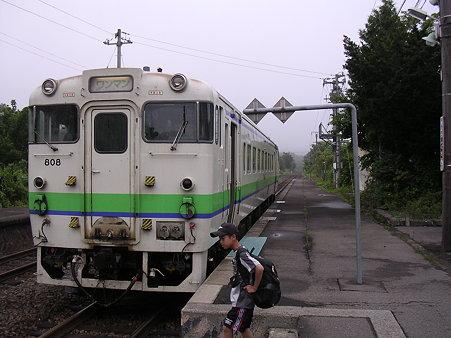 銚子口駅ホーム
