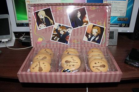 けいおん! 放課後ティータイムクッキー(1/5)