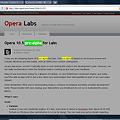 写真: Opera 10.5 pre-alpha:ページ内検索