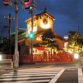 写真: 夜のアンティーク春日井店