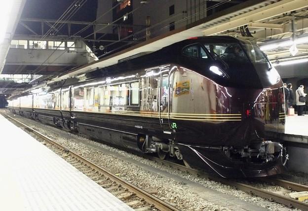E655系「和」 団体臨時列車 返却回送