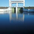 Photos: 青い水面