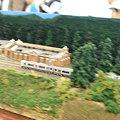写真: JR貨物 模型 流し撮り