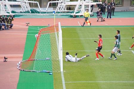天皇杯準々決勝名古屋グランパスの1点目その5