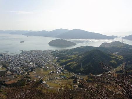 2010年正月帰省 野呂山からの眺め
