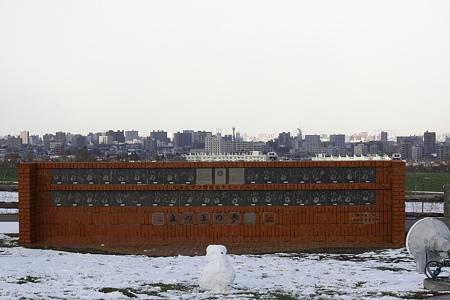 北海道日本ハムファイターズ誕生記念碑・丘の上の夢