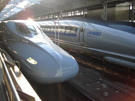20110429 新大阪からの新幹線