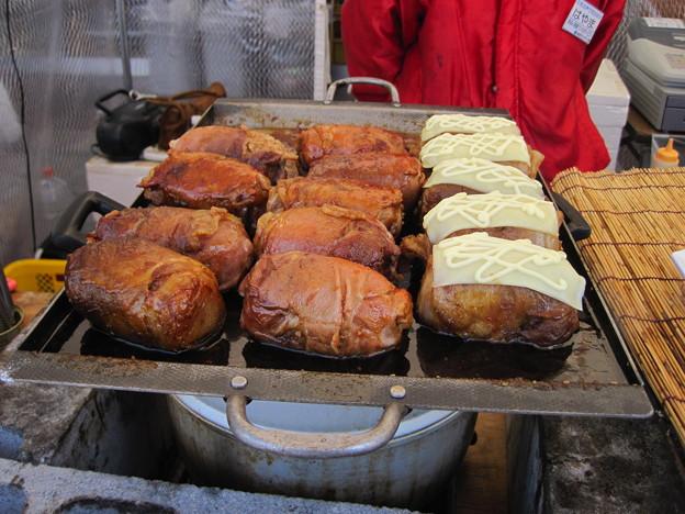 Photos: 肉巻きおむすび です、お腹が減った