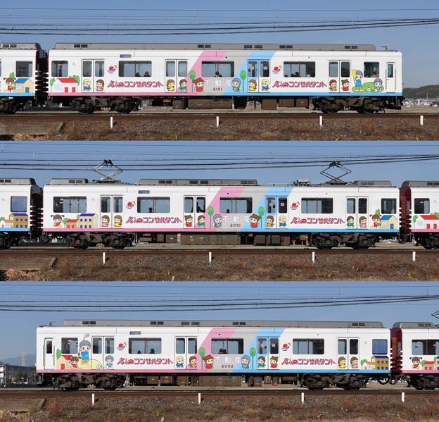 近鉄2050系2052F(RC51)山側側面 2010.01.27