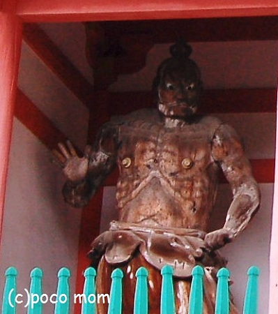 壷阪寺 仁王門仁王像