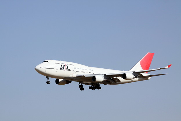 Narita International Airport JAL Boeing 747-400