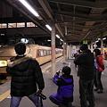 高崎駅 深夜の撮影会?