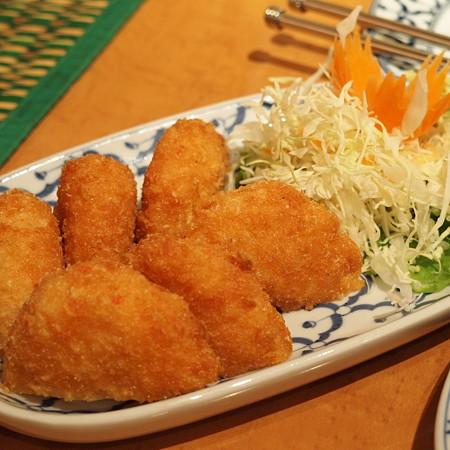 海老カツみたいなもの(タイ料理)
