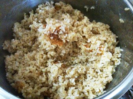 魚沼産コシヒカリのお焦げつき玄米ご飯