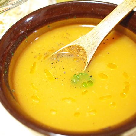 にんじんりんごスープ+オリーブオイル