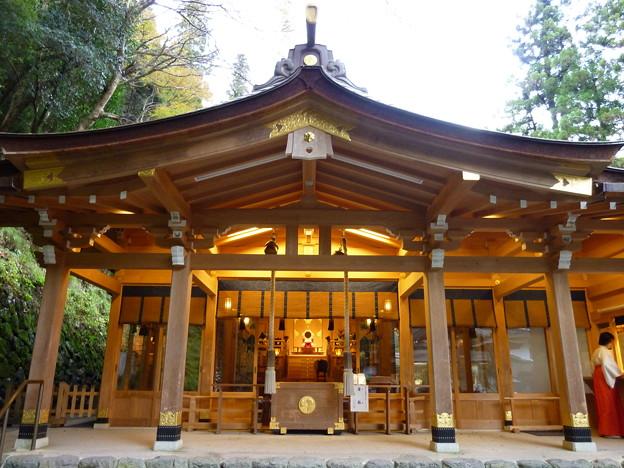 照片: 貴船神社、本殿