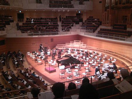 東京交響楽団第57回新潟定期後半セッティング