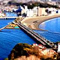 写真: 江ノ島大橋に魔法をかけて♪