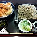 写真: 鶴喜 鶏天丼セット