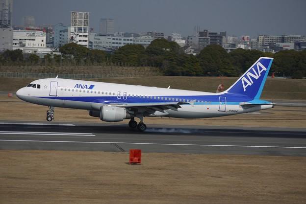 A320着地