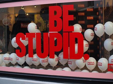 DIESEL: BE STUPID
