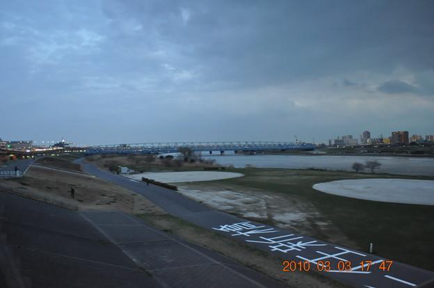 千住新橋の夕景_DSC_3977