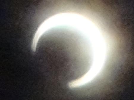 金環日食0737