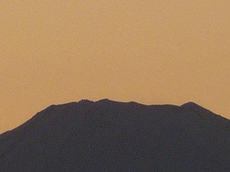 100101-富士山 夕 (1)