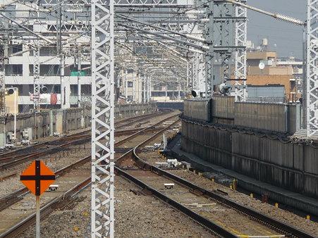 100224-新幹線 新横500下り 到着 (1)