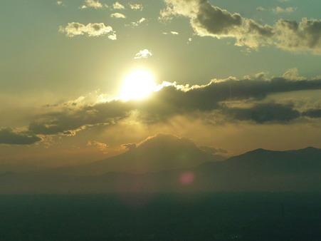 100310-富士山と夕陽 (18)