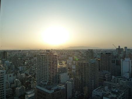 100311-富士山と夕陽 (2)