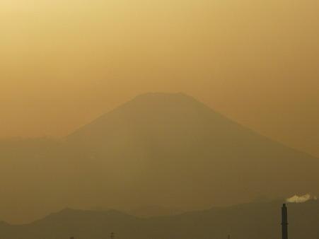100311-富士山と夕陽 (3)
