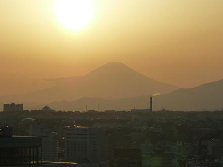 100311-富士山と夕陽 (6)