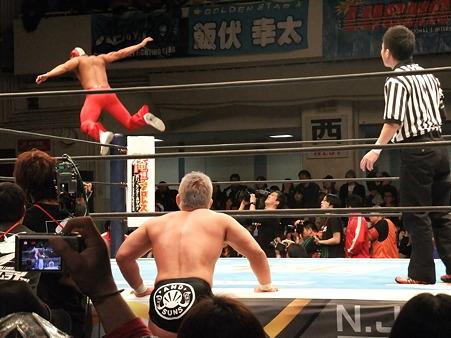 新日本プロレス CMLL 後楽園ホール 20110123 (26)