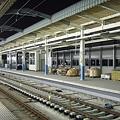 Photos: 工事中の東松戸駅新ホーム(2008/10/13)