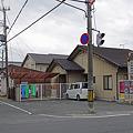 写真: 近畿日本鉄道・法隆寺線、大和安堵駅跡