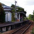 写真: JR西日本・三江線、所木駅