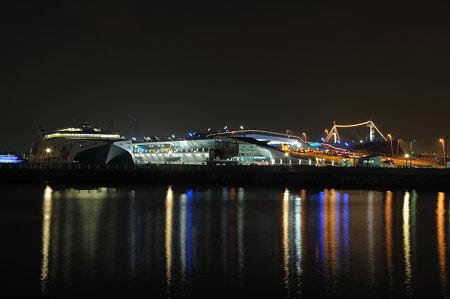 2010.2.19の大桟橋の光景