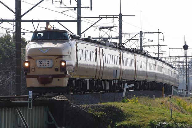 489系特急とき リバイバル運転(1)