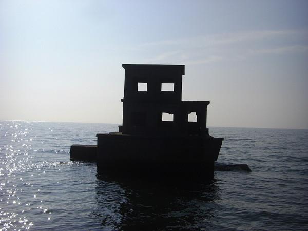 海上魚雷監視所跡