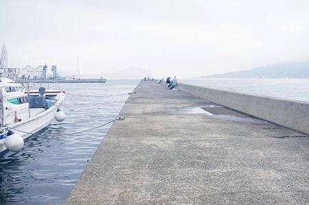 姪浜 渡船場