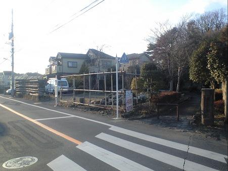 堀之内緑道 バス停