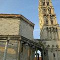 スプリットの大聖堂と鐘楼