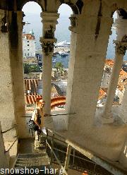 鐘楼の上の方
