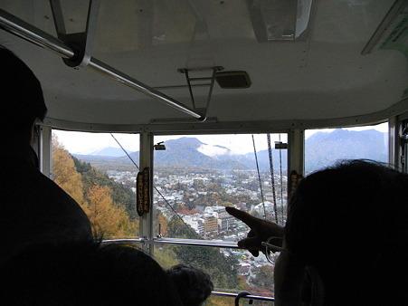 カチカチ山ロープウェイの景色5