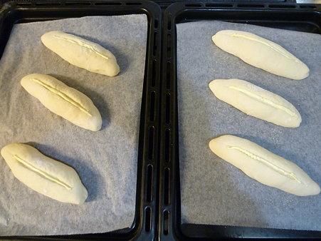 パンを焼きます♪